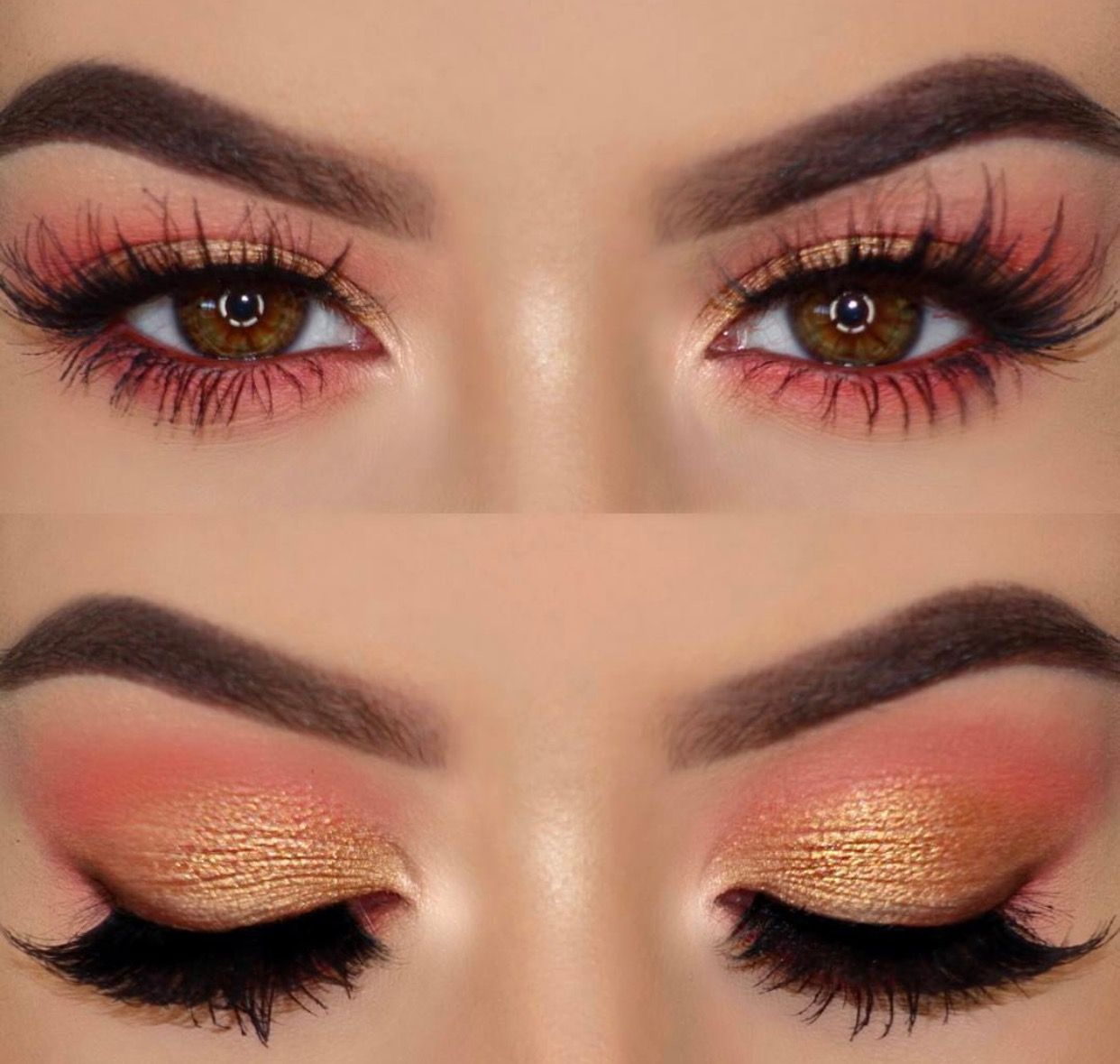 Pin by Jacquelin Argueta on Makeup Looks in 2019 Peach