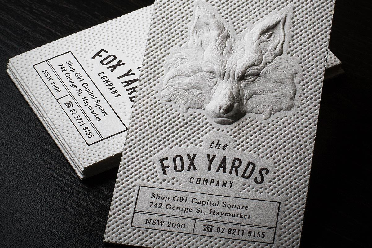 Letterpress Business Cards - Letterpress Printing by Jukebox ...