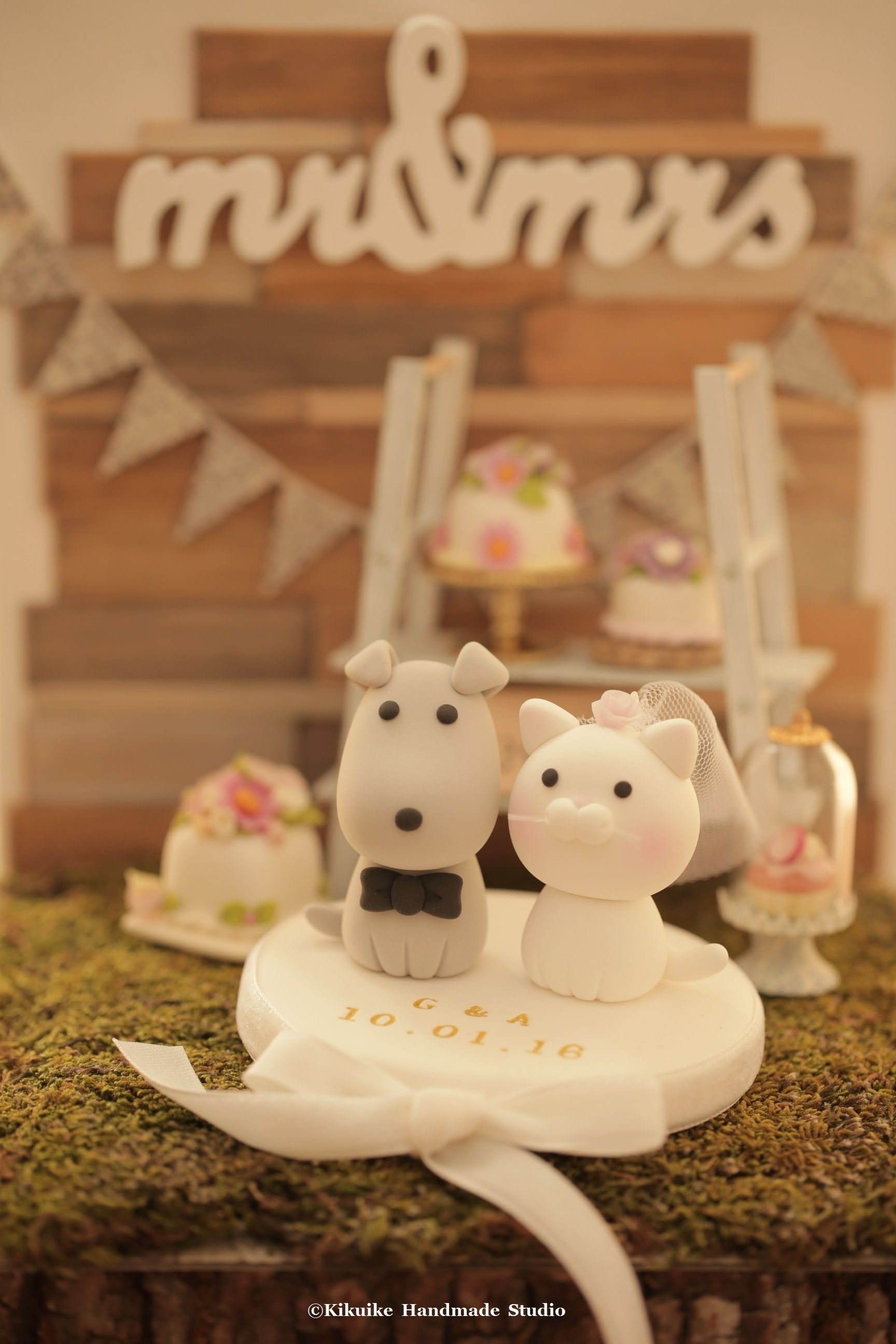 wedding cake topper cat and dog cat and wedding cake topper ideas planning kitty 26306