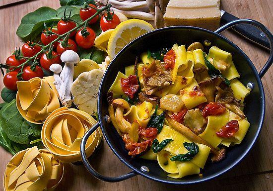 Che colori! Mi sembra un piatto perfetto!