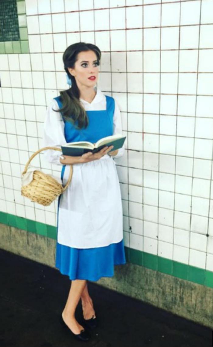 Cheap, easy diy Belle Cute halloween costumes for teens