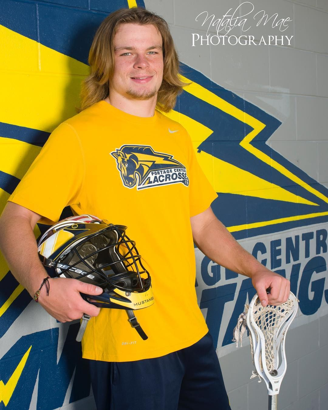 Zeb Class Of 2018 Senior At Portage Central Varsity Lacrosse And