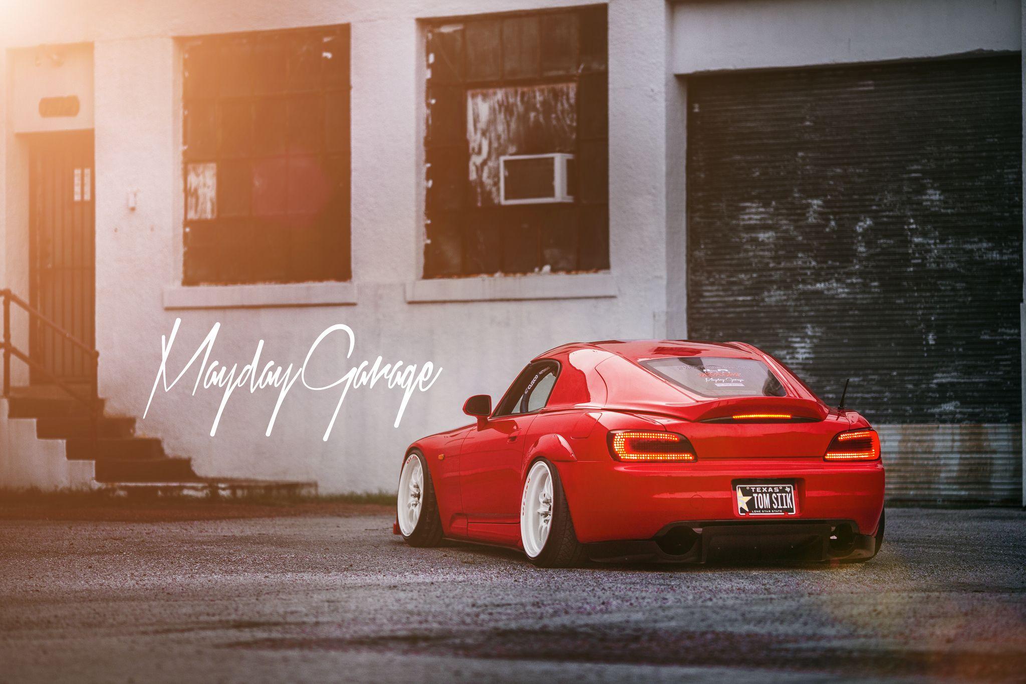 Mayday Garage S2000 AP2 Car Shop GLOW x Mayday Garage