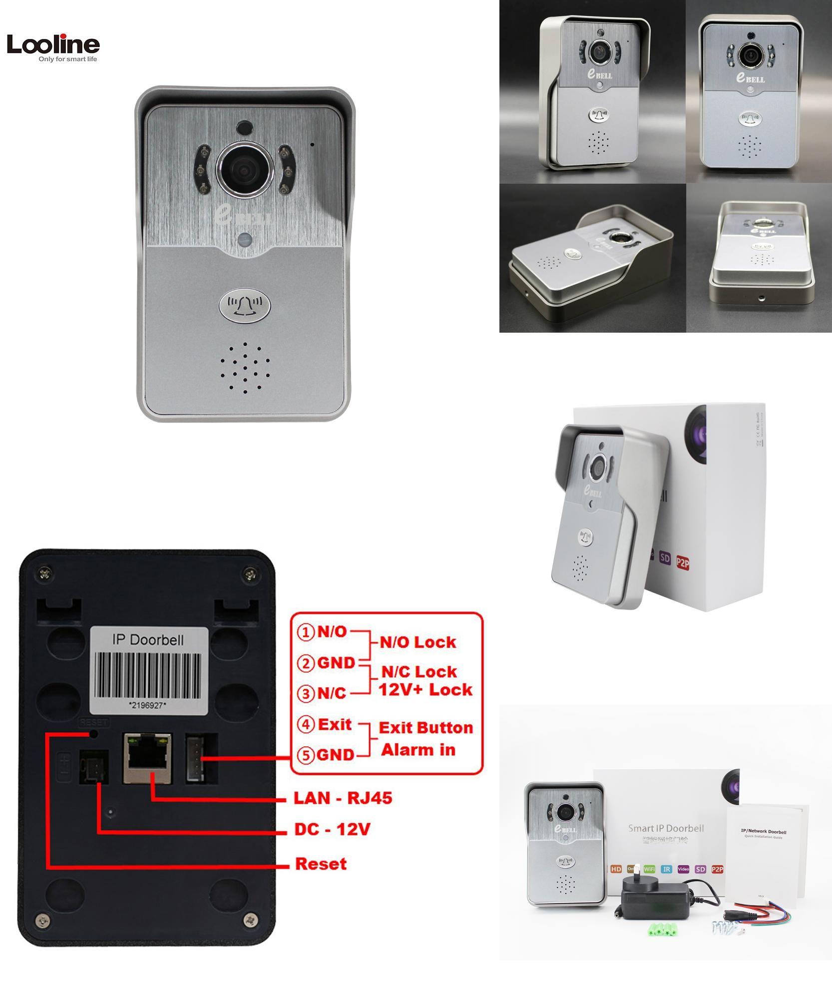 Visit To Buy 720p Ip Wireless Bell Camera Wifi Door Bell Night Vision Video Door Camera Bell Phone Doorphone Motion Detectio Security Protection Night