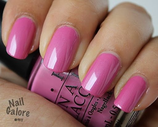 This Is My Favorite Opi Shade Its A Pinkish Purple That