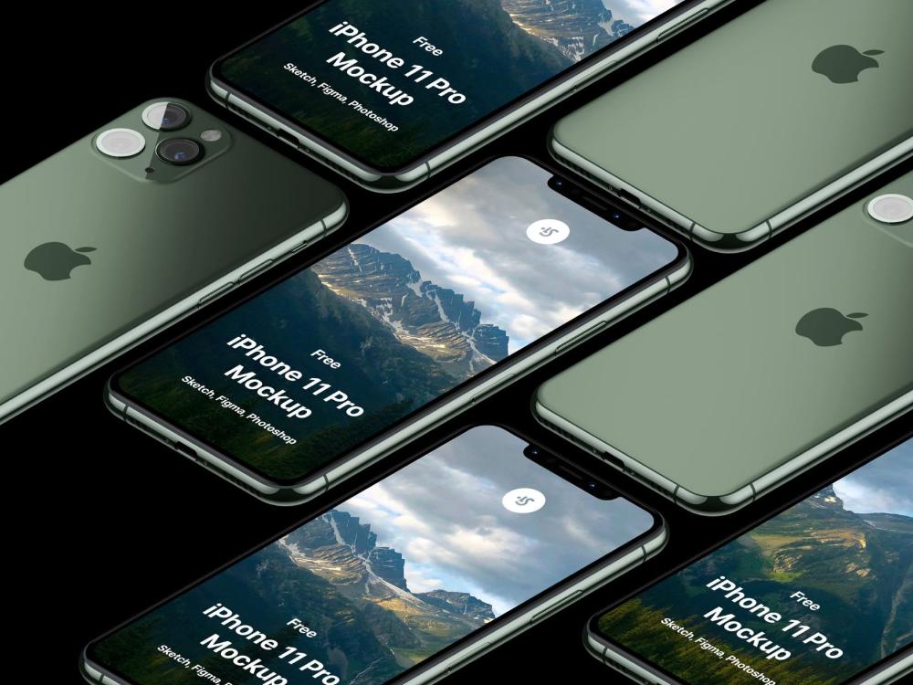 Free iPhone 11 Pro Max Mockup (con imágenes) Aveces, Drag