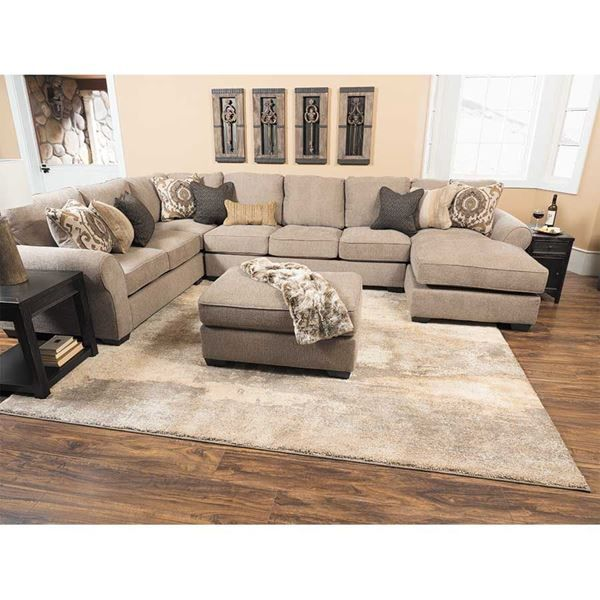 Best Pantomine 4 Piece Sectional With Raf Chaise Cozy Living 400 x 300