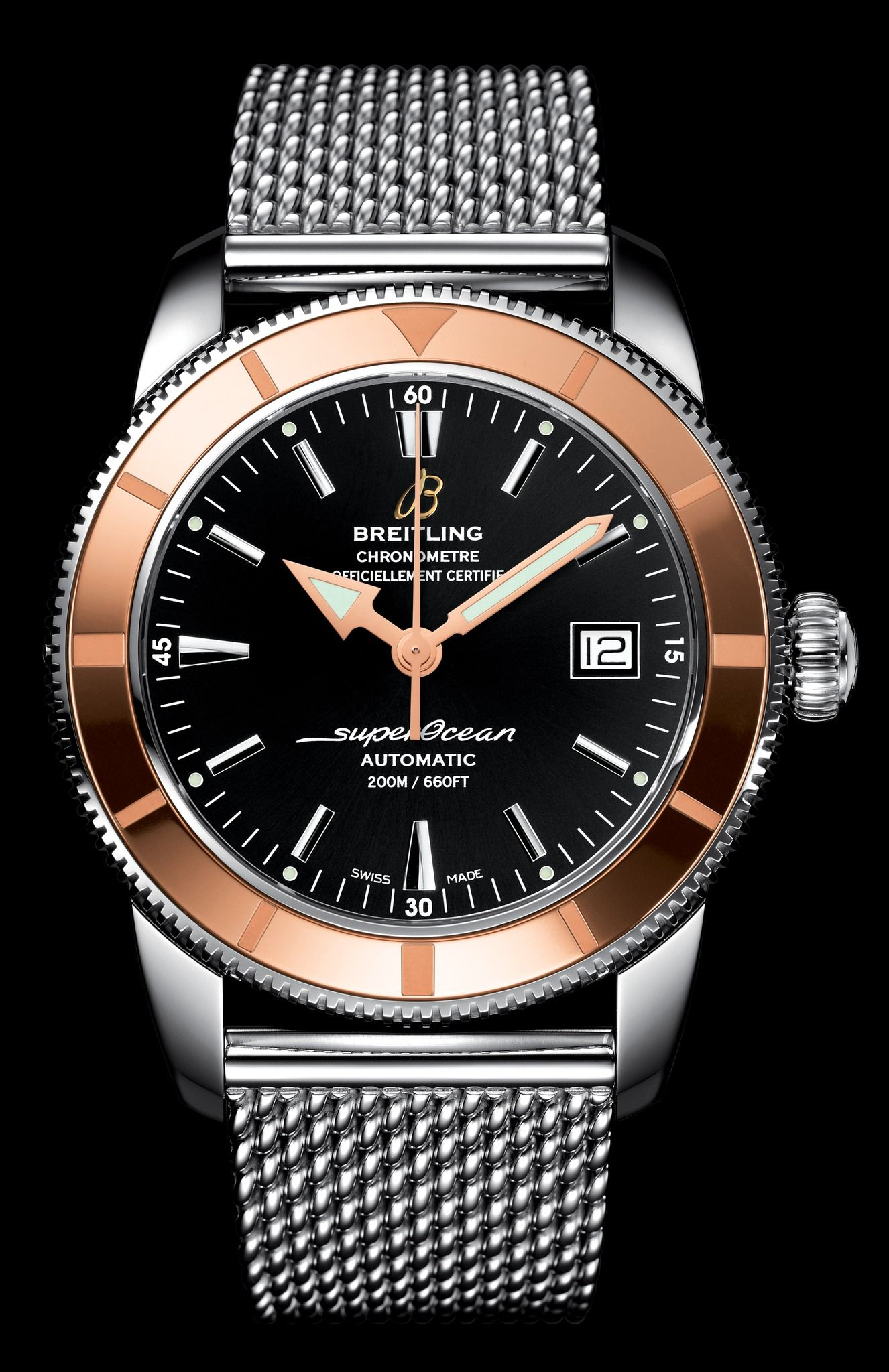 b6abb02bc2 Breitling SuperOcean Heritage rose gold