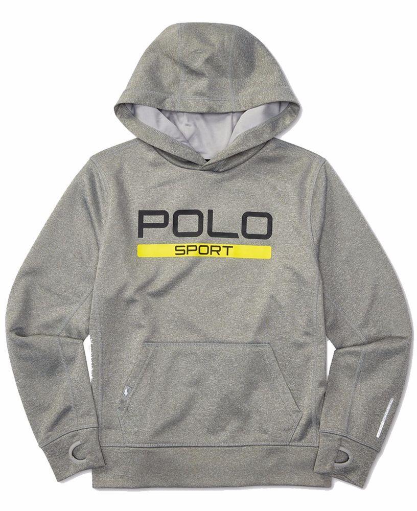 NWT Ralph Lauren Boys Polo Sport Fleece Sweater Pullover Hoodie  #RalphLauren #Hoodie #Everyday