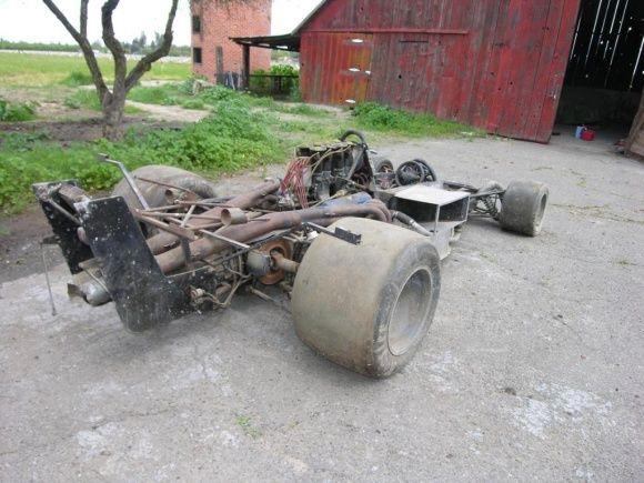 F5000 Barn Find Brian Redman 1974 Lola T332 Rusty Pinterest