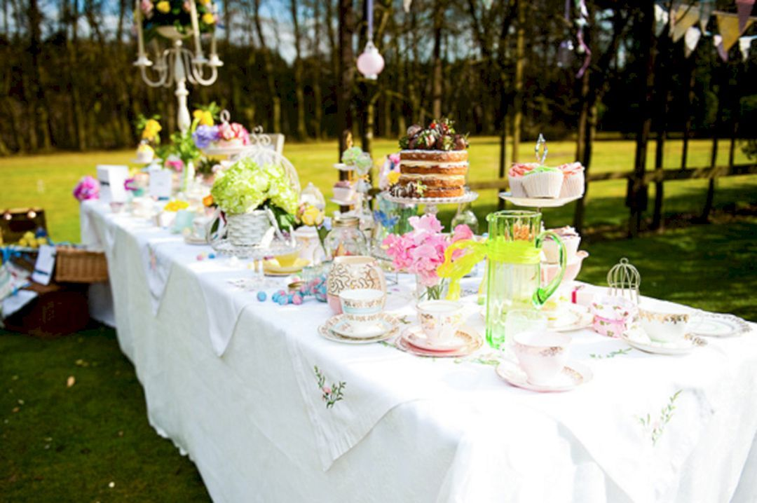 Best 25 English Garden Party For Your Wedding Inspiration