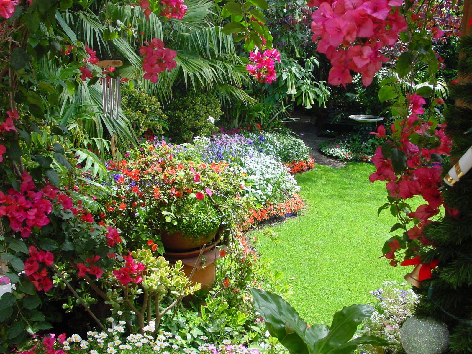 Paradise garden quarter acre paradise gardens quarter for How to make a beautiful garden