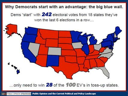 Can Republicans Paint The White House Red Public Opinion White - Us Map Polls Blue And Red