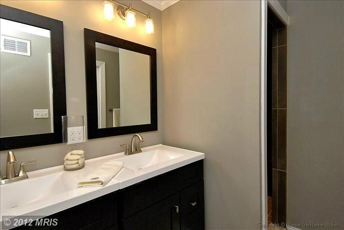 Bathroom Vanities Hamilton New Zealand two single vanities butted up against each other | bathrooms ideas