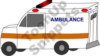 Ambulance Coloring Pages | Emergency Help | VBS Ideals | Pinterest ... | {Ambulance clipart 95}