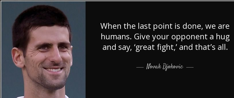 Novak Djokovic Quotes Novak Djokovic Tennis Quotes Inspirational Lines
