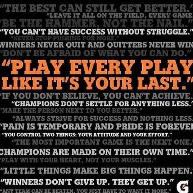 Motivational Quotes For Sports Teams: Gatorade Sports Motivation