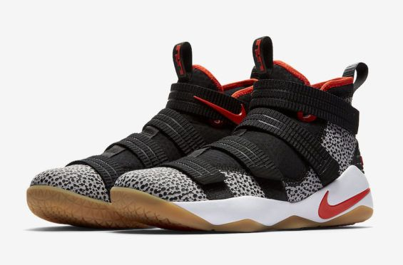 a2f2c807cb9a2 Safari Print Hits The Nike LeBron Zoom Soldier 11