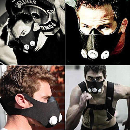 Training Mask,TopCrazy Half Face Training Mask,Fitness Mask,Running Mask, Resistance Mask, Elevation Mask, Cardio Mask, Endurance Mask For Fitness M - http://www.exercisejoy.com/training-masktopcrazy-half-face-training-maskfitness-maskrunning-mask-resistance-mask-elevation-mask-cardio-mask-endurance-mask-for-fitness-m/cardio-training/