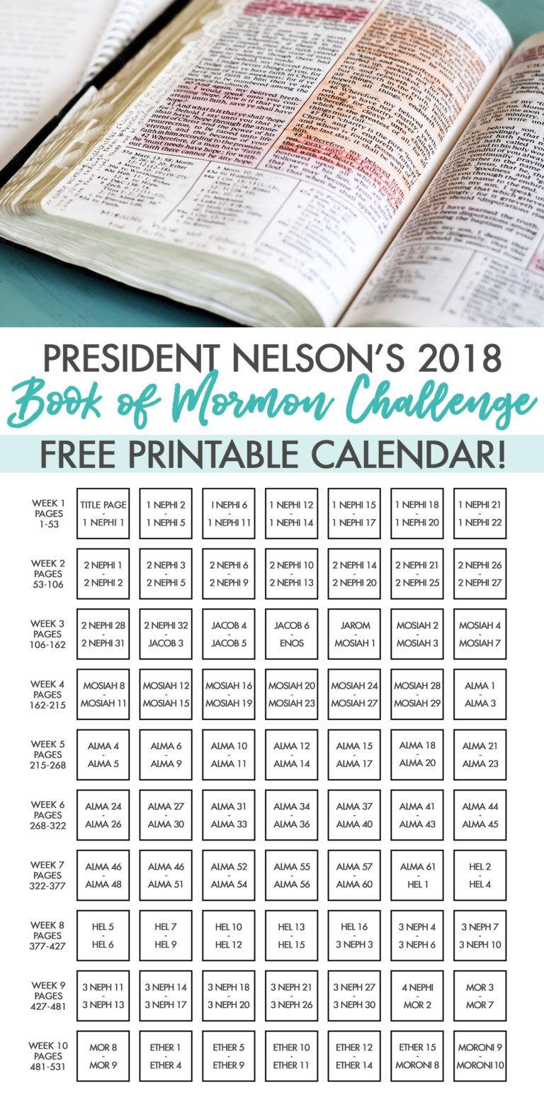 It's just a graphic of Insane President Nelson Challenge Printable