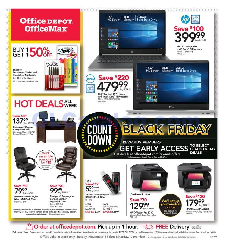 Office Depot OfficeMax Ad July 7 13, 2019