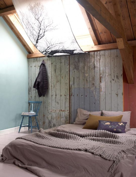 Lovely Bedroom Relaxed Feel And Beautiful Dusty Colours