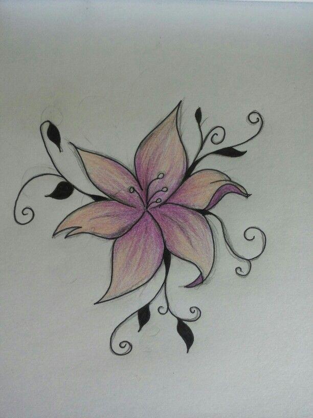 Next work. #flower #tattoo