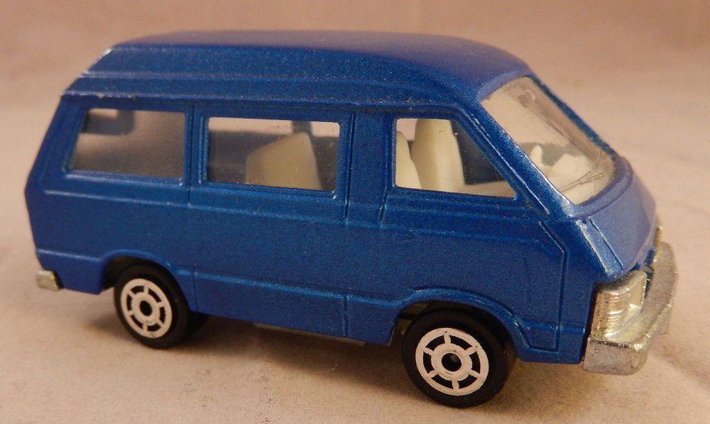 8c1a14d52fe940 Vintage Metal Car Majorette TOYOTA LITE ACE #216 Ech. 1/52 Blue Van - Wagon  #Majorette #Toyota $14.99