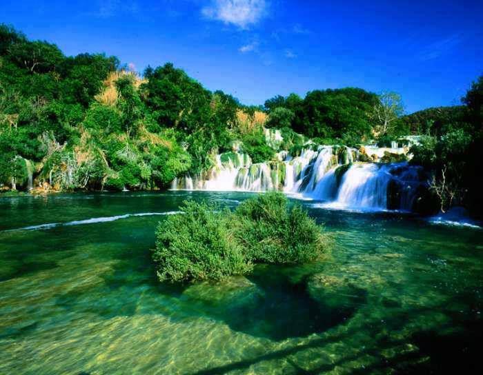 National park Krka waterfalls, Croatia