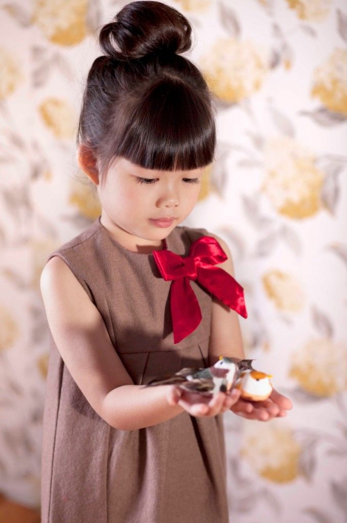 Poney Enfant fall 2013 inspired by classic French chic for girlswear
