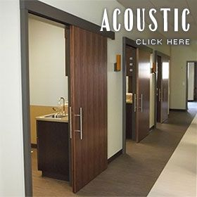 Aurora Doors - acoustic mitigation for privacy in medical and business offices. & Aurora Doors - acoustic mitigation for privacy in medical and ...