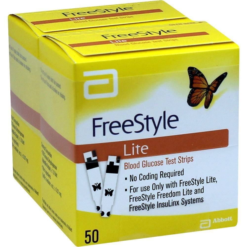 #FREESTYLE Lite Teststreifen ohne Codieren rezeptfrei im Shop der pharma24 Apotheken