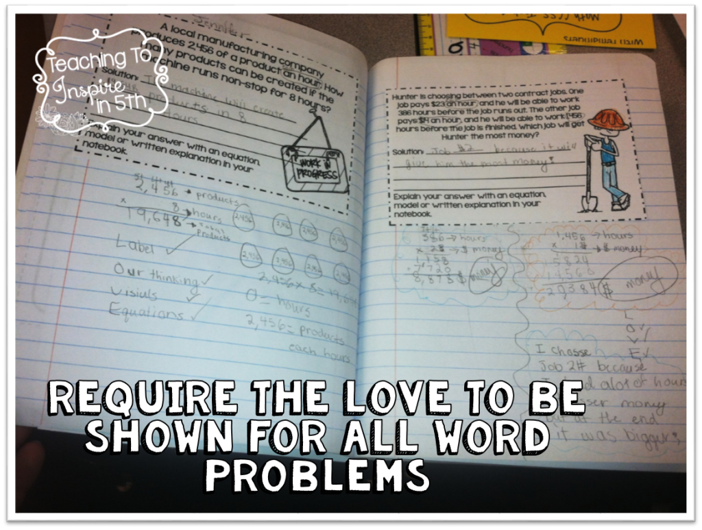 Show the LOVE with Word Problems | Word problems, Students and Math