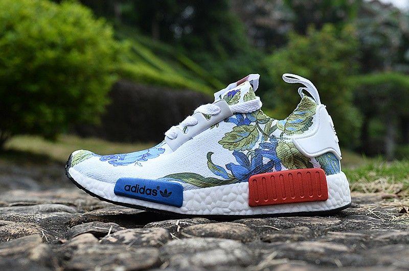 adidas originals nmd runner primeknit flower series rose 2016