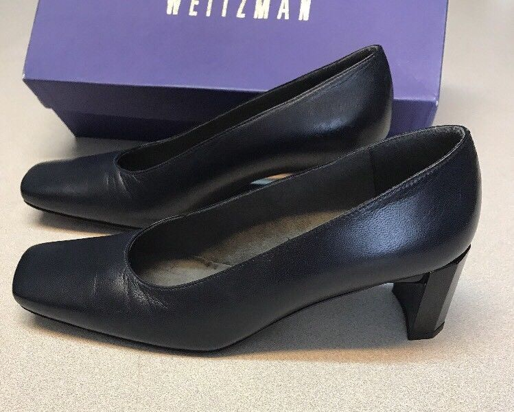 NIB Stuart Weitzman Duke Navy Nappa 7 Pump Schuhes ... Heels L@@K VERY ... Schuhes 04fc7f
