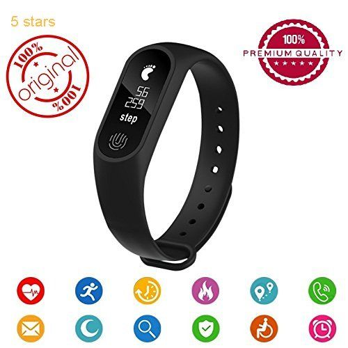 Easypro All Leading Smartphones Compatible Bluetooth M2 Fitness Band
