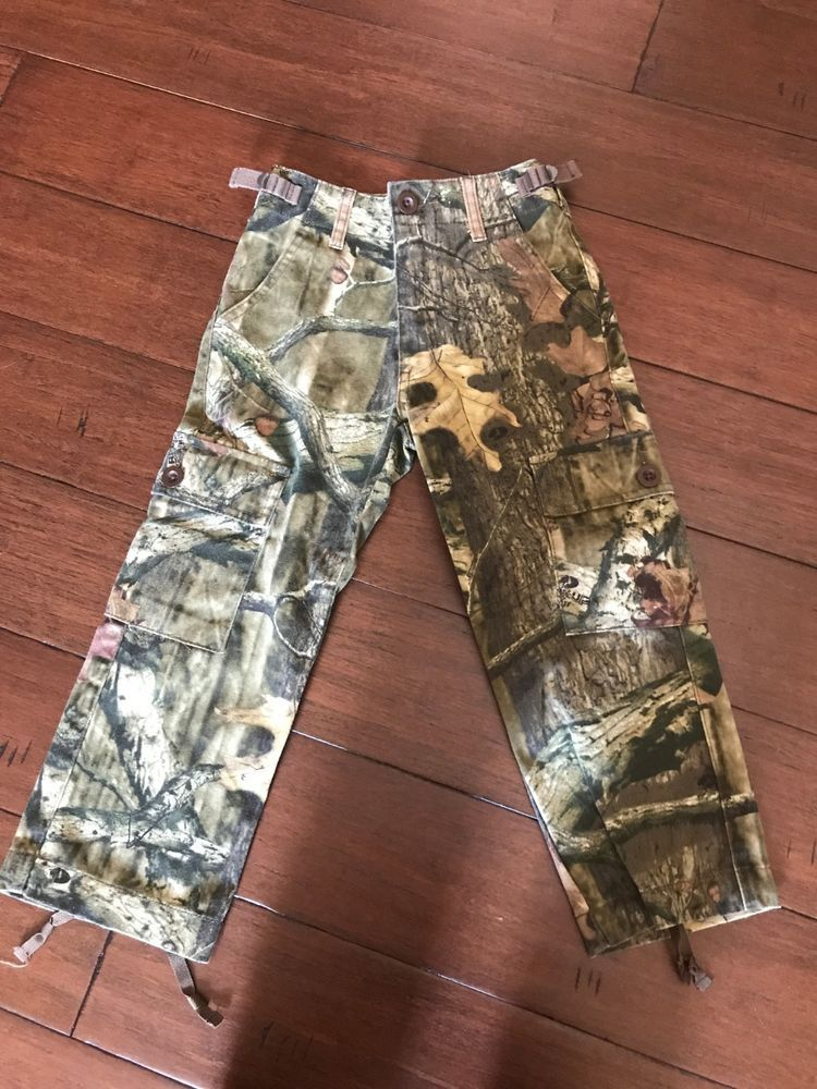 bd984d305be3c Cabelas for Kids Hunting Camo Pants Sz 4 Kids Break Up Infinity Cargo  Adjust. #fashion #clothing #shoes #accessories #kidsclothingshoesaccs ...