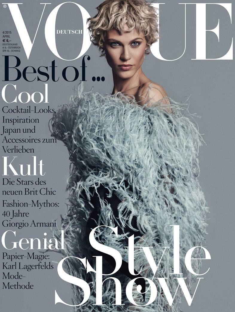 Vogue Germany April 2015 - Aymeline Valade