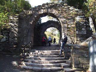 Entrada a Glendalough, Irlanda