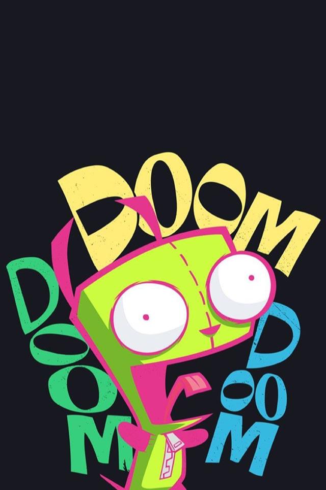 Invader Zim Invasor Zim Invasor Zim Diseno De Dibujos Animados Caricaturas De Nickelodeon