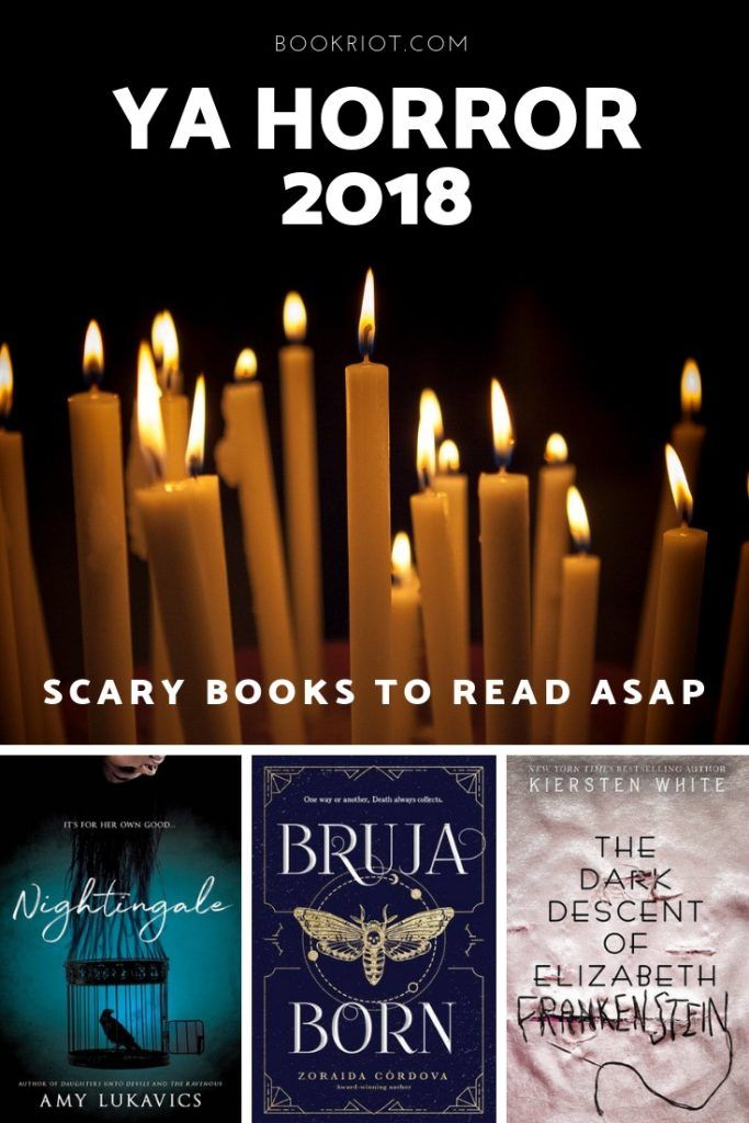 YA Horror 2018 30 Books That Will Send Chills Down Your Spine is part of Scary books, Book club books, Horror books, Books for teens, Halloween books, Teens reading - Get your read on with these 30 spinetingling ya horror 2018 books  Prepare yourself to shove 'em in the freezer and be scared awake all night long