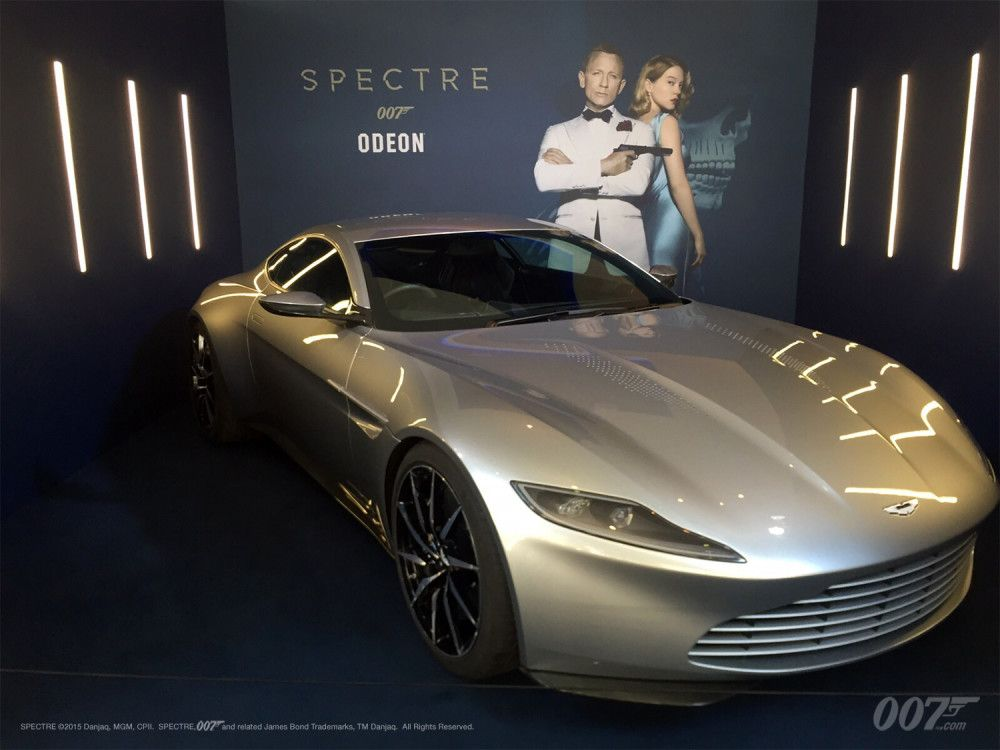 ASTON MARTIN DB10 APPEARANCE Leicester Square
