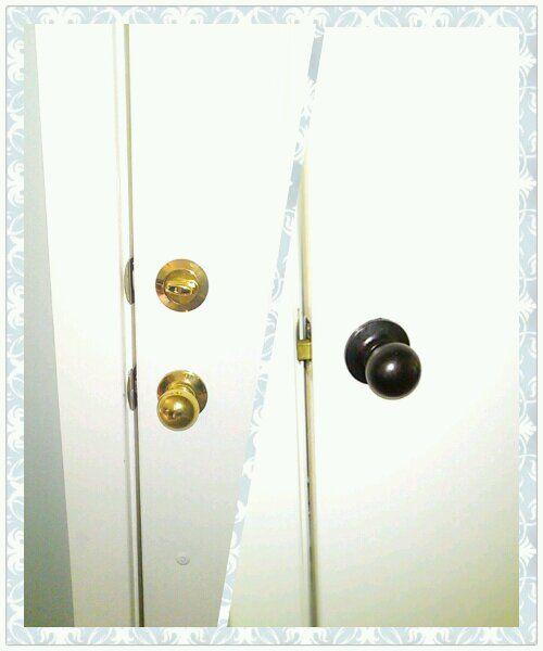 Turn My Ugly Doorknobs Pretty Cheaper.