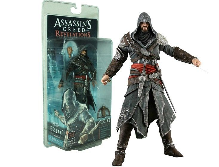 Find More Action Toy Figures Information About 33 On Behalf Of Neca Assassin S Creed Brotherhood Ezio 7 Inch Action Figure Han Assassins Creed Assassin Creed