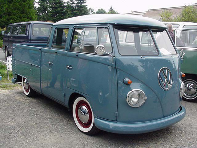 Vw Double Cab Truck Vw Double Cab Pickup With The Back Clip From