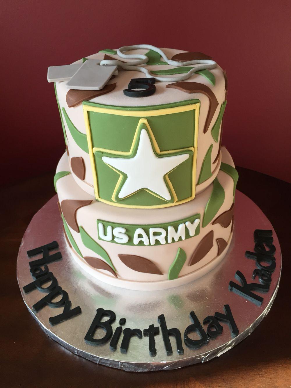 US Army Birthday Cake CAKES Pinterest Army birthday cakes