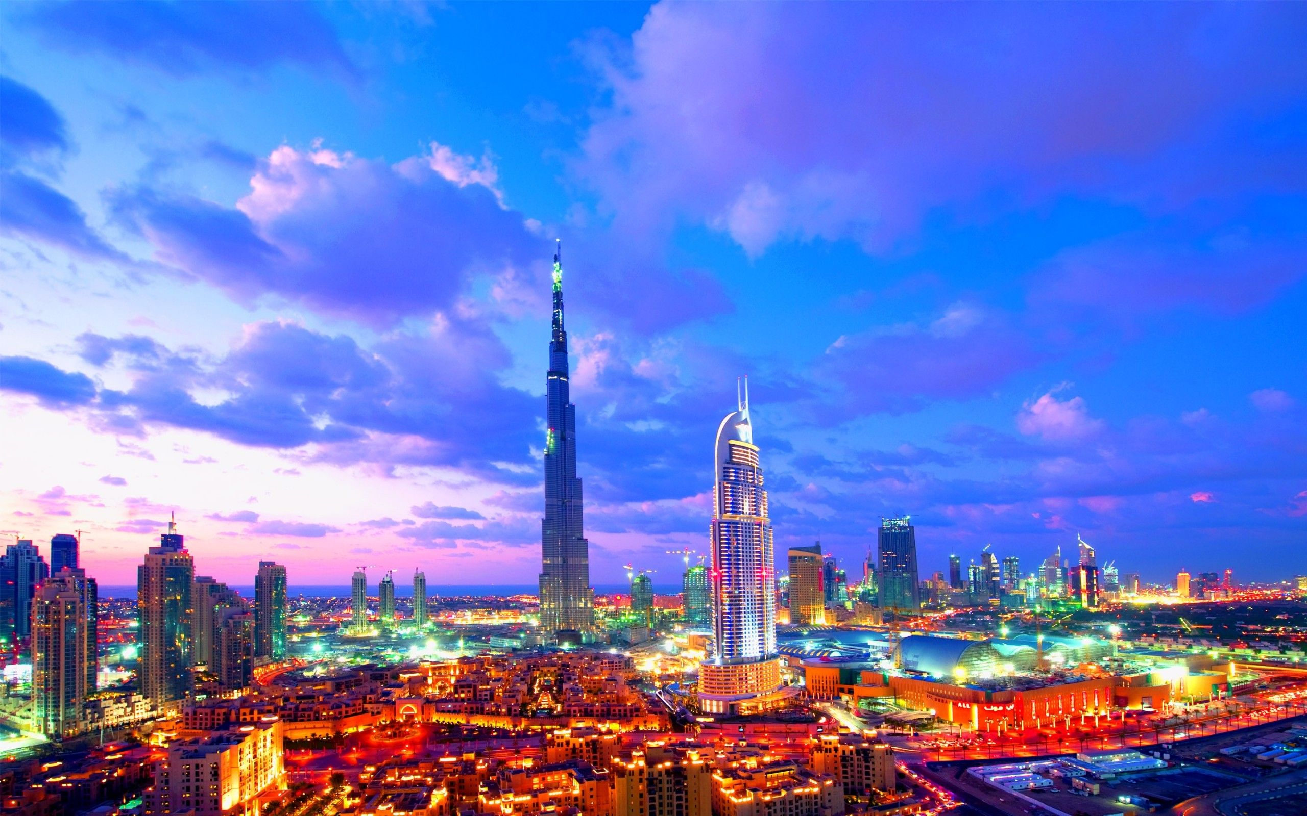 Sweet city lights architecture hd wallpapers hd for 3d wallpaper for home in dubai