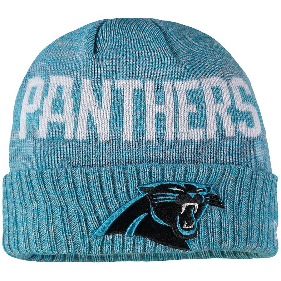 a54e5aba1f1d5a ... denmark toddler carolina panthers new era heathered blue crisp colored  cuffed knit hat your price 19.99