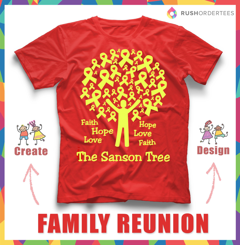 Family Reunion T-Shirt Ideas! Create your custom family reunion t ...