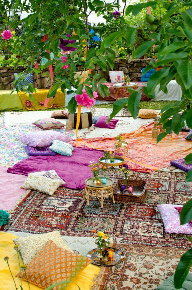 Feste Feiern Im Garten: Dekoideen Für Kleine Und Große Runden ... Dekoideen Fur Kleinen Garten Platz Ausnutzen